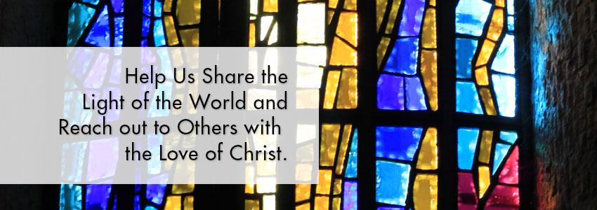 Help Us share the Good News